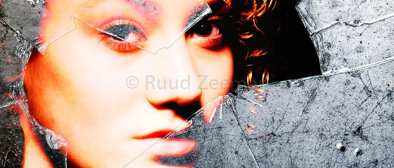 art portret vrouw